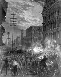 there s a riot goin on riots in u s history part one 2call it labor unrest great railroad strike of 1877 and homestead strike of 1892