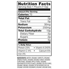 Отзывы (9) Органическое <b>детское питание</b>, <b>этап 3</b>, морковь ...