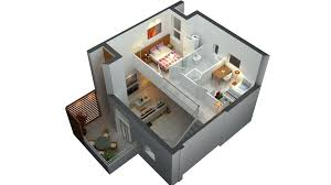 Two Bedroom House House Living Room Design - Two bedroomed house plans