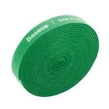 <b>Baseus</b> Rainbow <b>Circle Velcro</b> Straps 3m Green | POZOSTAŁE