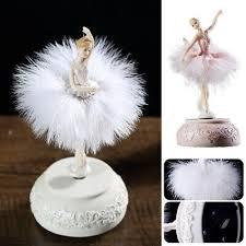 <b>Elegant Ballerina Dancing Girl</b> Music Box Swan Lake Carousel ...