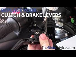 How to Replace Your <b>Motorcycle</b> Brake Lever and <b>Motorcycle Clutch</b> ...