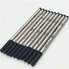 Luxury <b>high quality 6</b> PCS a <b>lot</b> black M710 mb pen refill for roller ...