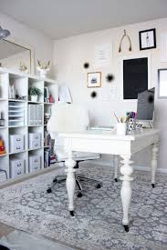 chic home office decor:  chic home office tour style cusp home office