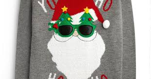 ho santa claus sweatshirt shirt hoodies christmas merry hat beard suit suit e551