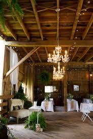 barn wedding with chandelier barn wedding lighting