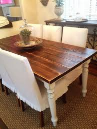 Parsons Dining Room Table French Farmhouse Table Dining Room With Parsons Chairs Farmhouse