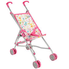 Купить <b>коляску</b> для <b>кукол</b> - <b>трость Melobo</b> S9302 (белый/розовый ...