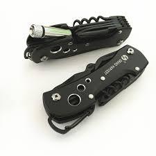 Титановый Черный Многофункциональный швейцарский <b>нож</b> ...