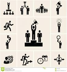 set of vector business and career icons stock photo image  set of vector business and career icons