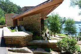 patio garden gate minnesota landscape design frank lloyd wright and niwa design studio masterpiece