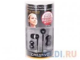 <b>Наушники Creative EP-630 Black</b> — купить по лучшей цене в ...