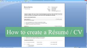 how to type resume in microsoft word resume how to make a how to write a resume cv microsoft word how to make a resume template on