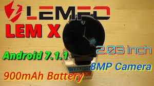 """<b>LEMFO LEM X 2.03</b> inch Smartwatch-AnTuTu Test, """"OK Google ..."""