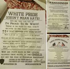 kkk recruitment fliers distributed in liverpool kkk flier 3 jpg