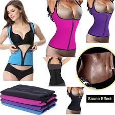<b>Women</b> Hot Slimming Vest Weight Loss <b>Body Shaper Tank</b> Top ...