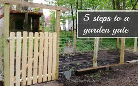 Small Picture A garden gate in 5 EASY steps Joy 2 Journey