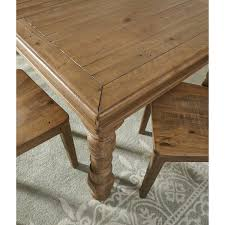 pine rectangular dining room extension table