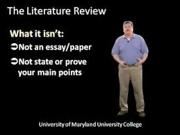 How to write the literature review of a research project     What is a Literature Review