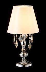 Настольная лампа <b>Crystal Lux MERCEDES</b> LG1 CHROME/SMOKE ...
