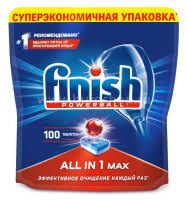 <b>Таблетки Finish</b> All in One Max (упак.:100шт) (<b>3065326</b>) купить в ...