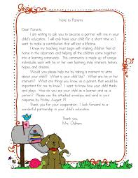 but really for letter to parents i did something similar letter to parents i did something similar this
