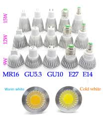 <b>Lampada led bulb</b> E27 E14 <b>GU10</b> MR16 12V LED COB Spotlight ...