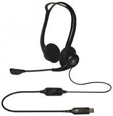 <b>Гарнитура Logitech PC Headset</b> 960 USB, Black Наушники: 20 ...
