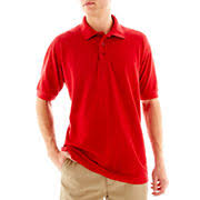 Image result for school uniforms red shirt khaki