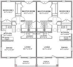 Duplex house plans  Duplex house and Floor plans on Pinterest bedroom bath cottage plans   Duplex House Plans Full Floor Plan Bed