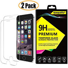 4youquality [2-Pack] iPhone 6 6S <b>Screen</b> Protector, <b>Premium</b> ...