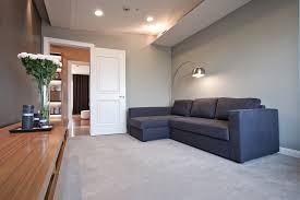 bedroom with light gray walls family room contemporary with recessed lighting white wood bedroom recessed lighting