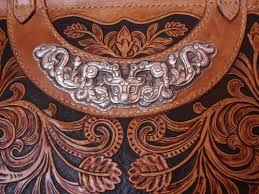 All handmade leather carving 99 fine silver <b>Haute couture Luxury</b> ...