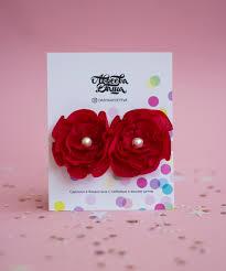 "Декоративные <b>заколки</b>резинки для волос > Набор ""мини-цветы ..."