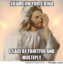 Shame on you, China... - Facepalm Jesus Meme Generator Captionator via Relatably.com