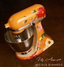 stand kitchen dsc: kitchen aid stand mixers are still a staple piece of equipment in kitchens of people who like to cook but now they are getting gussied up a little