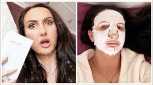 Восстанавливающая <b>тканевая маска</b> для лица NovAge от ...