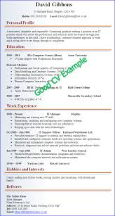 examples of good and bad cvs   cv plazaexample of a good cv