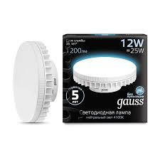 <b>Лампа Gauss LED GX70</b> 12W AC150-265V 4100K - Gauss ...