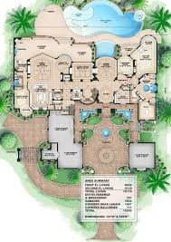 Mediterranean house plans  Mediterranean houses and House plans on    Plan WE  Tuscan Style Mansion