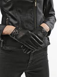 <b>Перчатки</b> Кожаные <b>перчатки</b> на кнопке - Чижик
