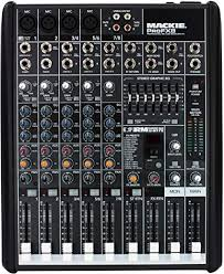 Mackie PROFX8 8-Channel Mixer: Musical Instruments - Amazon.com