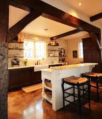 concrete floors kitchen rustic hydraulic stained concrete floors kitchen farmhouse with none none