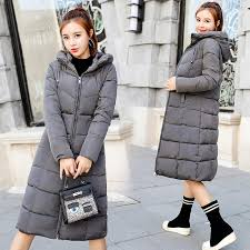 size 6XL Down jackets 2018 <b>Fashion</b> Women <b>Winter</b> Coat Long Slim ...