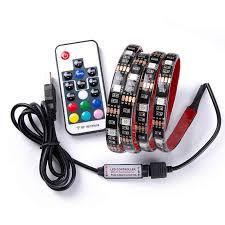 DC 5 В USB RGB светодио дный полосы SMD 5050 Гибкие свет ...