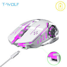 <b>mouse</b> bluetooth <b>T</b>-<b>WOLF Q13</b> Rechargeable Wireless <b>Mouse</b> Silent ...