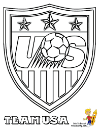 Small Picture Soccer Coloring Sheets FIFA USA MLS West Free American