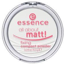 <b>Essence Пудра</b> компактная <b>матирующая</b> all about matt! fixing ...