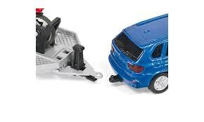 Модель автомобиля <b>BMW</b> с прицепом и <b>мотоциклом</b> от <b>Siku</b>, 2547k