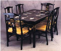 rectangle chinese dining set oriental rectangle dining set dining set with mother of pearl chinese furniture asian dining room furniture
